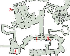 奇跡のトランペットのマップ