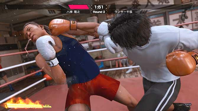 ボクシングのEXアクション
