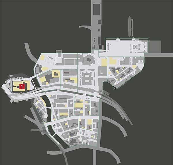 チャプター2『殺された加害者』の攻略マップ