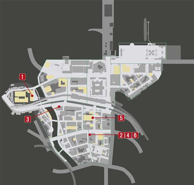 チャプター3『探偵vs便利屋』の攻略マップ