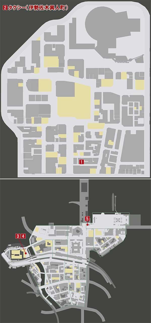 チャプター6『収束熱』の攻略マップ