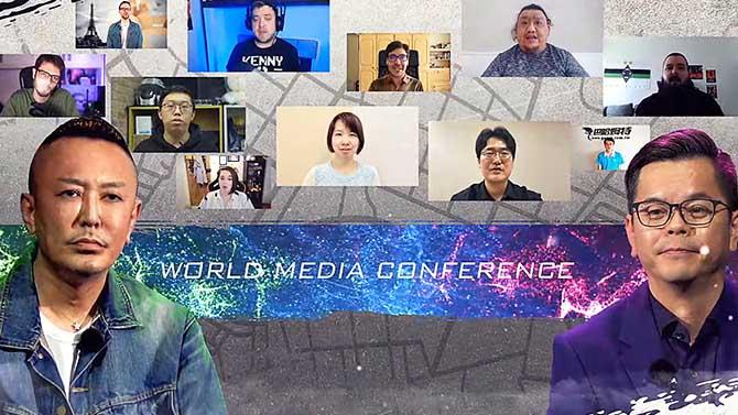 ロストジャッジメントのワールドメディア・カンファレンス
