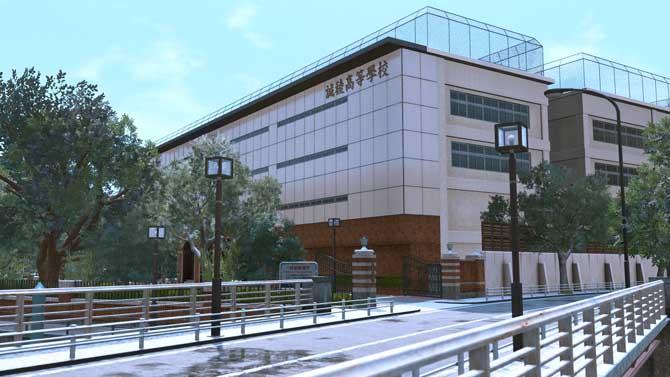 ロストジャッジメントの私立高校・誠稜高校