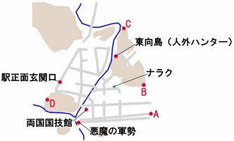 東京-上野のマップ