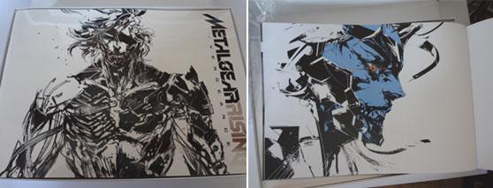 メタルギア ライジング リベンジェンスのアートブック