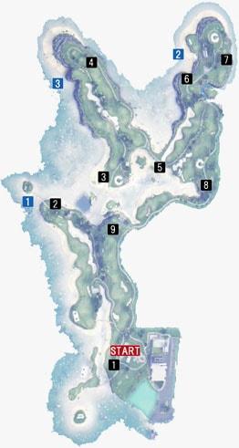 カナロアビーチG.R.-OUTの釣り場マップ