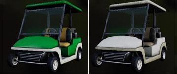 スタンダードタイプ(無地)のゴルフカート画像