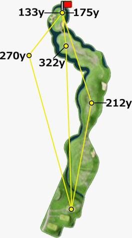 インペリアルガーデンhole12-in