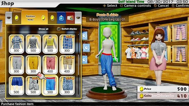 ショップの購入画面