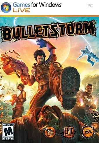 Bulletstormのパッケージ
