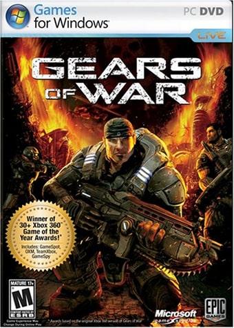 PC版のGears of Warのパッケージ