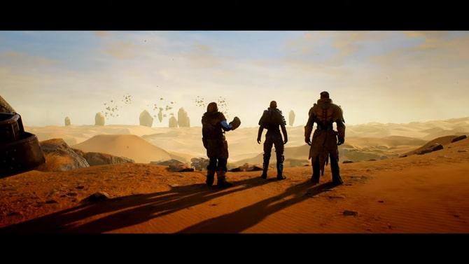 エノクの砂漠風景