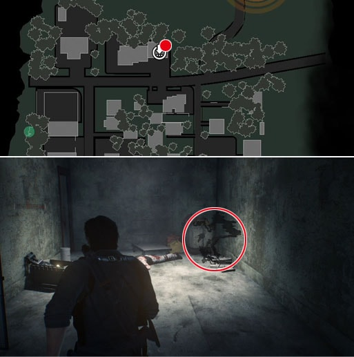 Batten Down The Hatchesの残留思念の場所のマップ