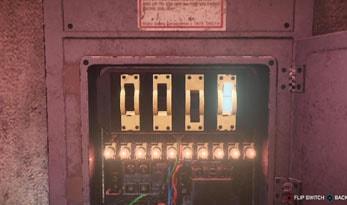 電力スイッチの操作の仕方