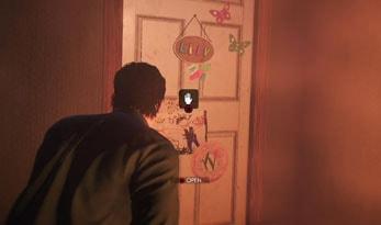 リリーの部屋のドア