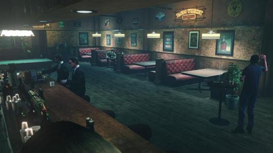 キッドマンと再会する酒場
