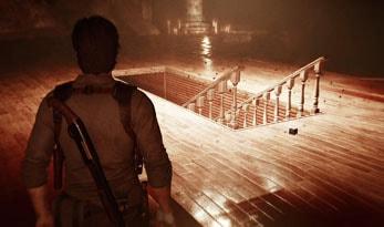 下へ降りる階段