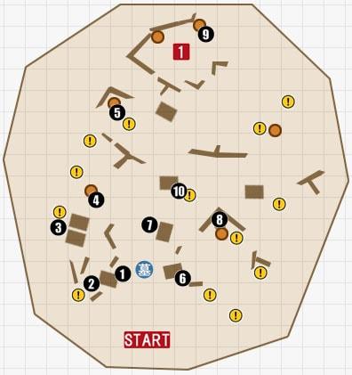 チャプター12『底なし沼』のマップその2