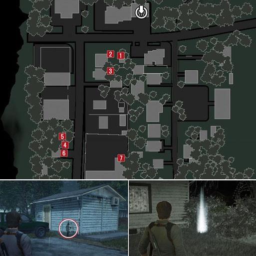 リリーの痕跡のマップ