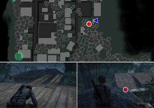 奇妙なレプリカ武器の入手場所のマップ