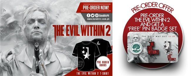 The Evil Within 2の店舗特典