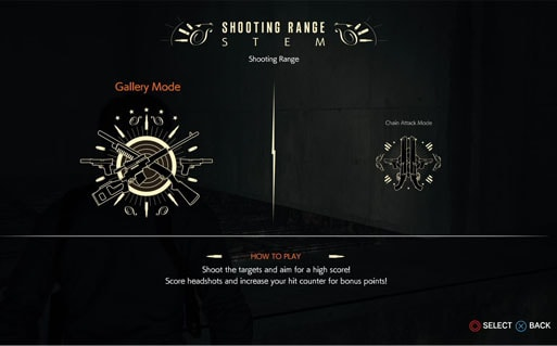 射撃場『Shooting Range STEM』