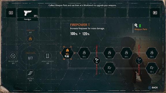 武器アップグレードの画像