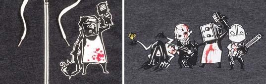 サイコブレイクのパーカー、Tシャツ