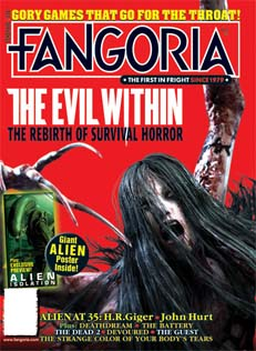 FANGORIAのThe Evil Within表紙
