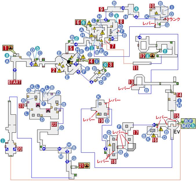 CHAPTER 10のマップ