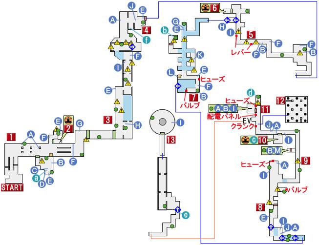 CHAPTER 14のマップ