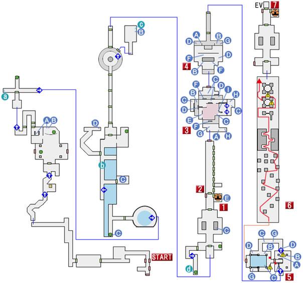 CHAPTER 15のマップ