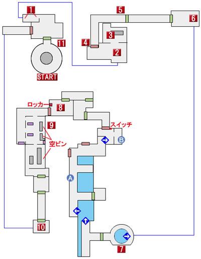 CHAPTER 1のマップ