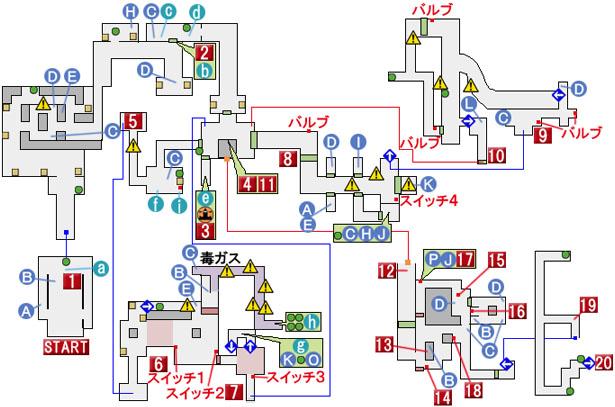 CHAPTER 7のマップ