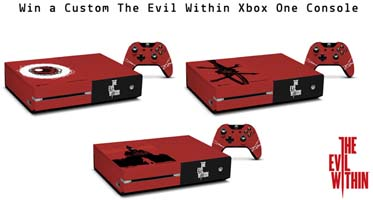 The Evil WithinデザインのXbox one