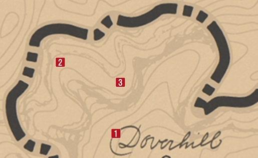 避雷針の設置場所マップ