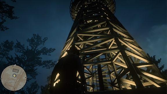 スイッチを切り替える塔の画像