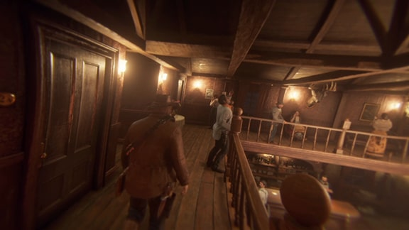 酒場2Fにいるレニーの画像