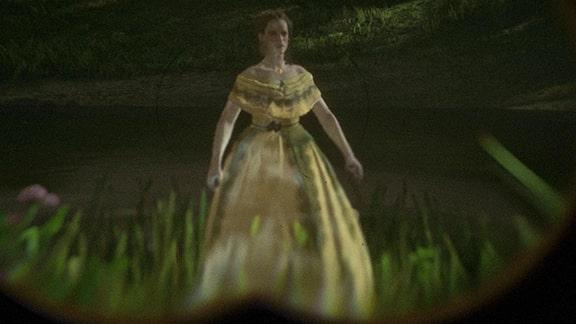 ブルーウォーター湿地に現れる女性の幽霊