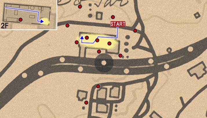 コーンウォール灯油タール精製所の進み方のマップ