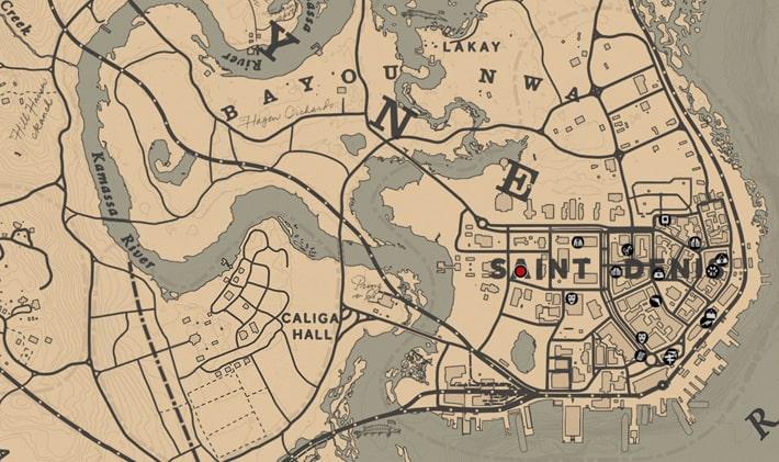 アンダース・ヘルガーソンの居場所マップ