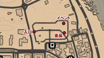 墓地の攻略マップ