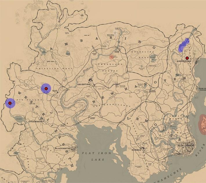 シマセゲラ、エボシクマゲラの居場所マップ
