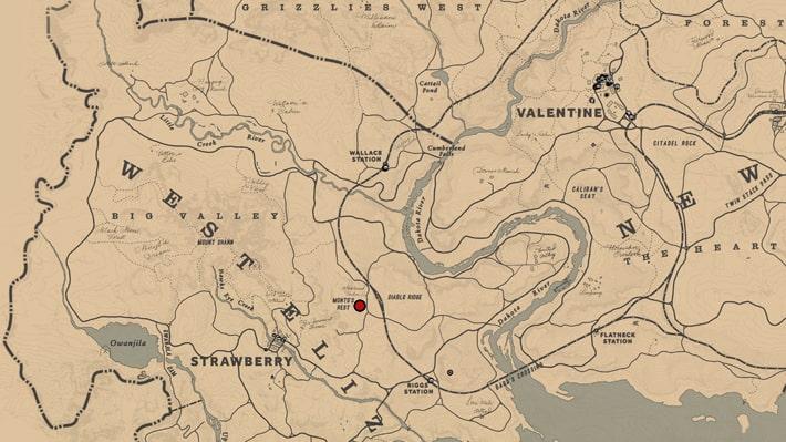 伐採場『アップルシードティンバー社』のマップ