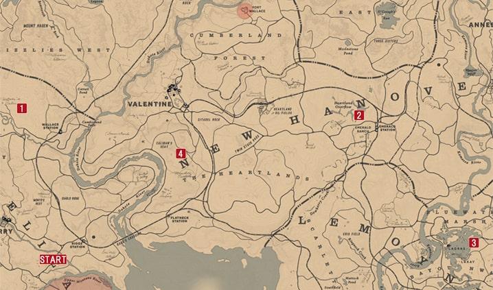 素人のための理想郷論の発生場所のマップ