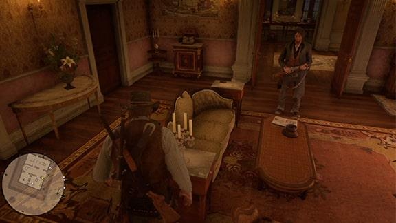 ブレイスウェイト荘園でのジャック捜し