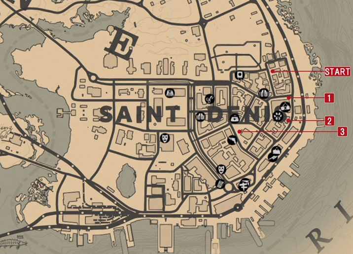 誰もがみな兄弟の発生場所のマップ