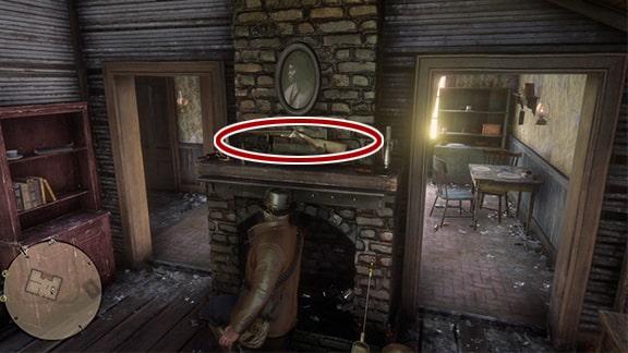 ベッドの下に隠れるネイト