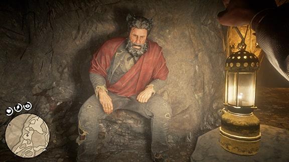洞窟の世捨て人の画像