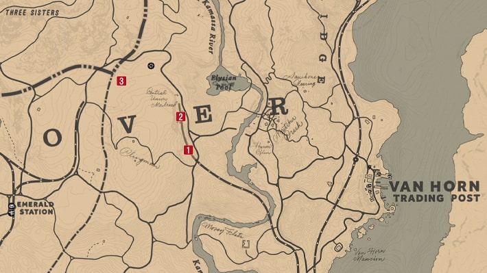 鉄道建設『セントラルユニオン鉄道キャンプ』のマップ